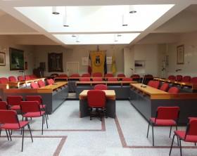foto sala consiliare Marotta