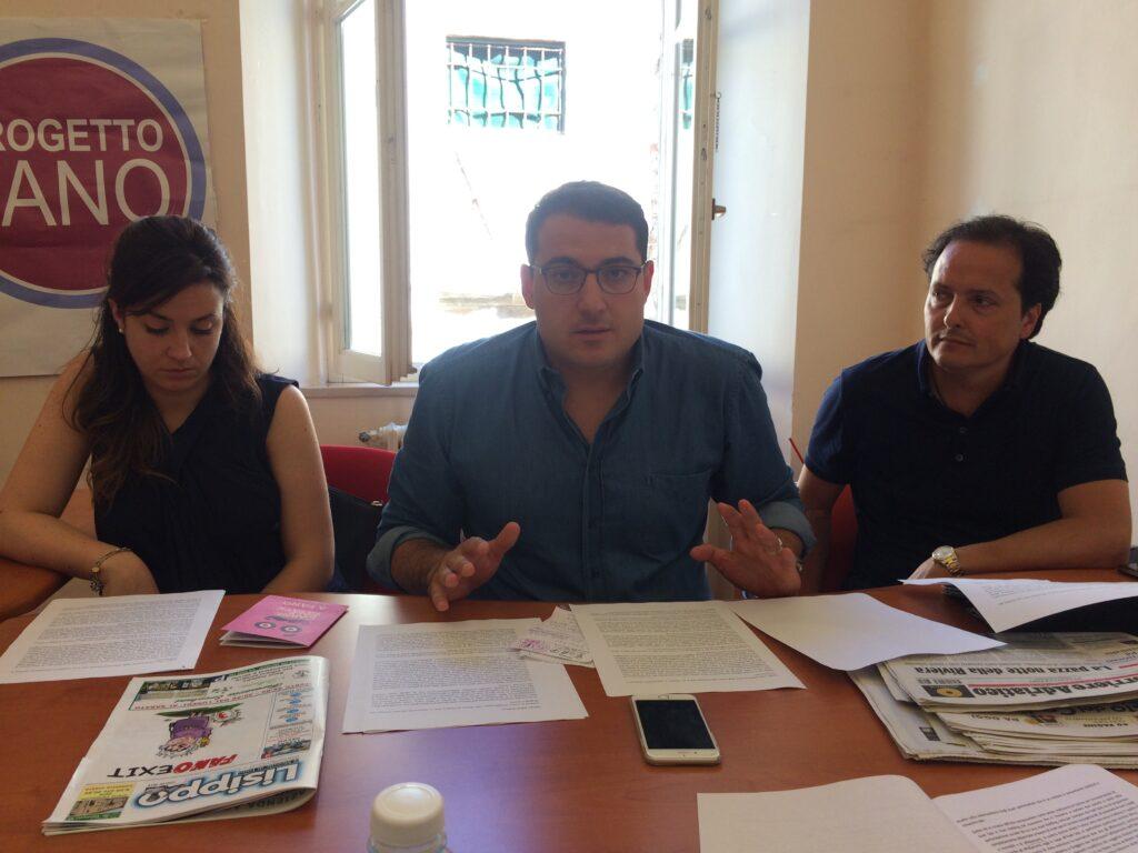 Marianna Magrini, Alberto Santorelli e Davide Del Vecchio