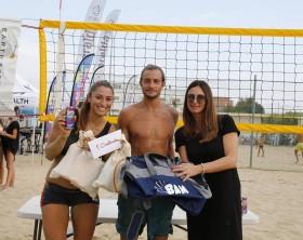 Marica Lucconi e Mattia Turiani con Elisa Bertini