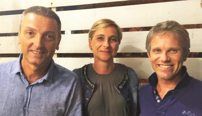 Giovanni Fontana, Marta Ruggeri e Hadar Omiccioli della lista civica Fano a 5 Stelle