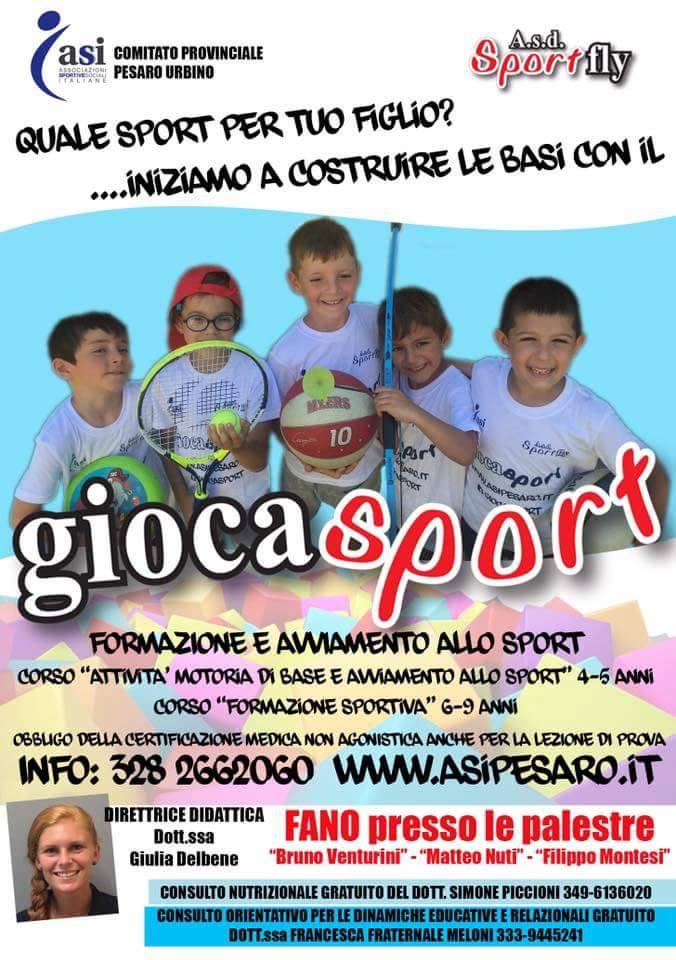 locandina giocasport 2016