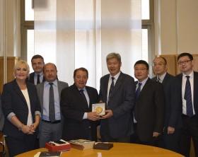 delegazione cinese a Pesaro