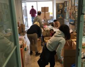 Volontari nella bottega del Furlo