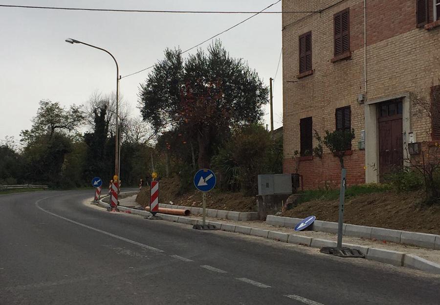 Tavullia quasi 600 mila euro di investimenti per marciapiedi