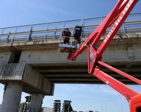 Calcinacci ponte autostrada