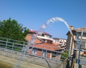 pompa canale albani