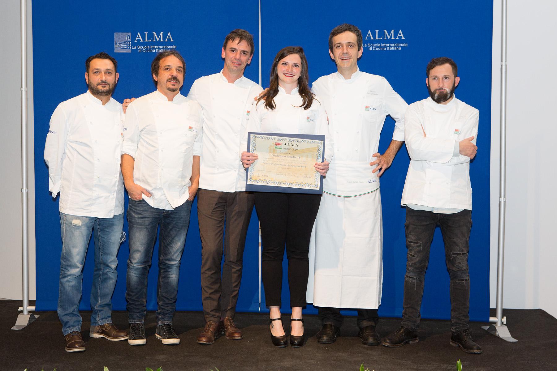 Scuola internazionale di cucina italiana tra i diplomati for La cucina di francesca valmadonna