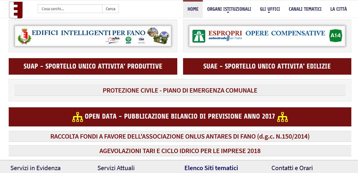 Agevolazioni tari e ciclo idrico sul sito del comune di for Agevolazioni utenze domestiche